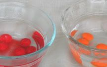 Candy Experiments: Dissolving Hot/Cold