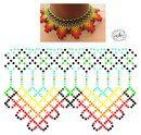 صور Natali Khovalko Beaded Jewelry, Beaded Necklace, Necklaces, Peyote Patterns, Beading Tutorials, Jewelry Design, Beads, Bead Necklaces, Chokers