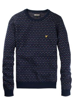 Lyle and ScottJacquard Crew Neck Sweater