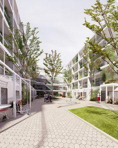 Galería de 1.61 Arquitectos, tercer lugar en concurso de viviendas sociales Villa 20 en Buenos AIres - 3