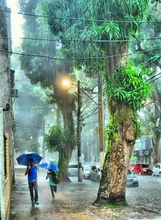 Chuva em Belém do Pará <3 - Foto de Sandro Barbosa