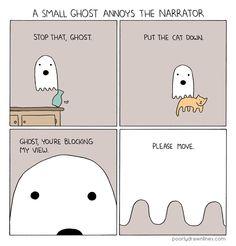ghost via poorly drawn lines