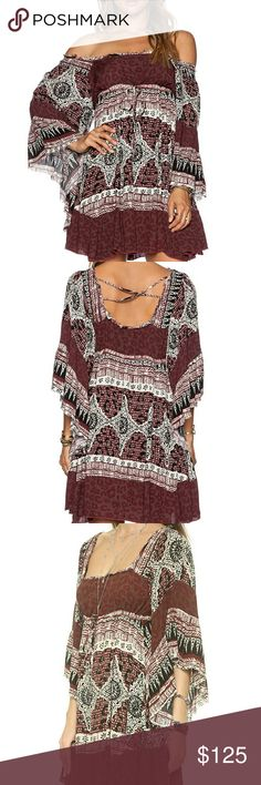 Free people heart of gold dress Free people boho dress. Great condition!  Price firm! Free People Dresses