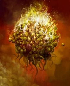Lovecraft Cthulhu, Hp Lovecraft, Arte Horror, Horror Art, Science Fiction, Dragons, Yog Sothoth, Call Of Cthulhu Rpg, Lovecraftian Horror
