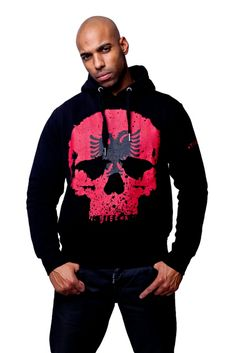 Thug Life World Skull Albania Hoodie