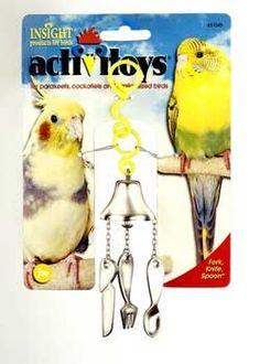 e9faea1e5d Activitoy Bird Toy Fork Knife Spoon Small Birds