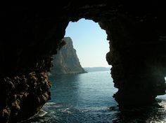 "Cueva ""El Moraig"", Benitachell, Alicante, España. The cave near our old place. Need to visit again..."