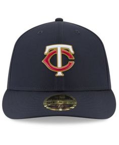 New Era Minnesota Twins Spring Training Pro Light Low Profile 59Fifty  Fitted Cap - Blue 6 7 8 2488eda0b