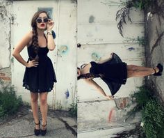 Le Lennon (by Patricia Boks) http://lookbook.nu/look/3763161-Le-Little black drees!
