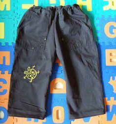 Die Linkshänderin: Kleine Hose aus große Hose