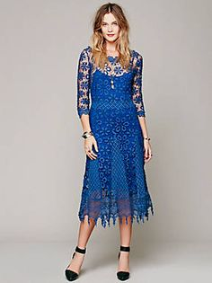 Free People Daisy Chemical Lace Dress, $268.00