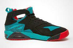5a145ba9db66 Nike Air Tech Challenge Huarache (Green Crimson) - Sneaker Freaker