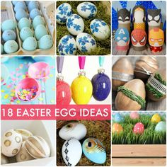 18 awesome Easter Egg Ideas