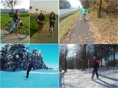 I absolutely love doing sport. I love spending time on a fresh air. I love to ride my bike in my free time and ride a lot of kilometres. And I love snowboad. I got hooked on this by my boyfriend. It was quite tough at first but I was great instructors and I absolutely love this. I make a fool of myself on ski slope but it was brilliant. On ski slope you can meet people from different walks of life.