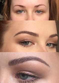 This Woman's Brow Tutorial Is Going Viral—and She Only Uses One Product - This Woman Fills Her Eyebrows in With One Product Le maquillage est un processus qui donne une bell - Plucking Eyebrows, Tweezing Eyebrows, Threading Eyebrows, Microblading Eyebrows, Threading Salon, Round Eyebrows, Natural Eyebrows, Shape Eyebrows, Makeup Trends