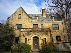 a house on Kalorama (in DC) ...the homes there are some of my favorites