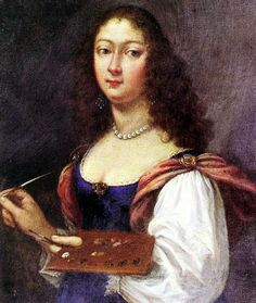 """Self-Portrait"" by Elisabetta Sirani (1660)"