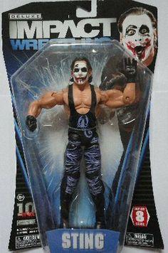 MATTEL WWE Rétro série 3 AJ Styles Wrestling Action Figure Comme neuf on Card