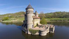 Château de la Roche, Cordelle, Roanne, Loire, France - http://bestdronestobuy.com/chateau-de-la-roche-cordelle-roanne-loire-france/