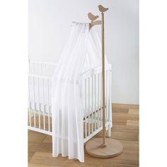 Ciel de lit enfant en bois L 40 cm Lapinou is creative inspiration for us. Baby Boy Nursery Decor, Baby Bedroom, Baby Boy Nurseries, Nursery Themes, Baby Decor, Nursery Room, Kids Bedroom, Cot Canopy, Diy Crib