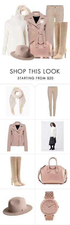 """""""White Sweater (OUTFIT ONLY!) - Contest!"""" by asia-12 ❤ liked on Polyvore featuring 7 For All Mankind, IRO, Diane Von Furstenberg, Gianvito Rossi, Givenchy, MICHAEL Michael Kors and River Island"""