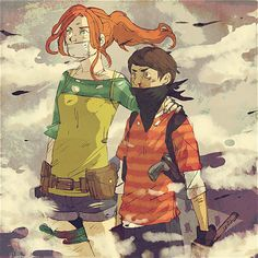 Ted and Audrey in Zombie Apocalypse The Lorax, Lone Wolf, Zombie Apocalypse, Beast, Deviantart, Running, Gallery, Artist, Anime