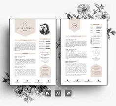Resume-Template-of-Curriculum-Vitae-for-Designer-with-Professional-Profile.jpg (570×521)
