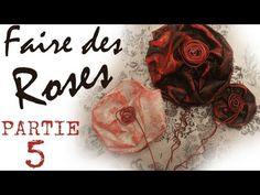 Comment faire des roses avec de la récup de noël - YouTube#t=166