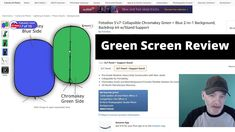 Green Screen Review Photo Lighting, Drone Photography, Security Camera, 2 In, Backdrops, Green, Youtube, Spy Cam, Backgrounds