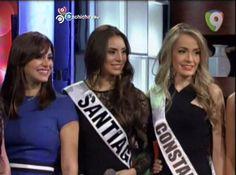 Las Candidatas A Miss Universo RD 2014 Con Pamela Sued En Sigue La Noche @PamSued #Video