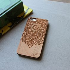 iPhone 6/6s Dream Catcher Wood Engraved case