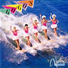 Go-Go's, Vacation***: One of my favorite things about this band is the way the band's name is stylized. Without the apostrophe, its a reference to go go dancers who, one could argue, were paid to be objects. With the apostrophe, the name becomes possessive and these women are doing something, taking action, participating in a fundamental right of capitalism, ownership... of their own careers and their own bodies. This was and still is subversion in the form of an apostrophe. 1/28/17