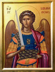 Orthodox Christian Icon of Saint Michael - Bing Images Religious Images, Religious Icons, Religious Art, Byzantine Art, Byzantine Icons, Church Icon, Russian Icons, Best Icons, Archangel Michael