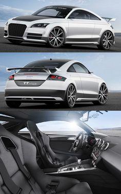 New Audi TT ultra quattro concept