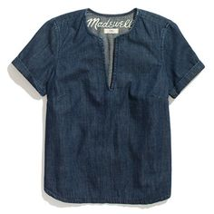 Madewell denim tee, $68  See more picks here: http://www.vogue.com/guides/spring-2013-100-under-100/