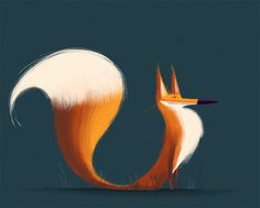 Fox from Cup O' Doodle