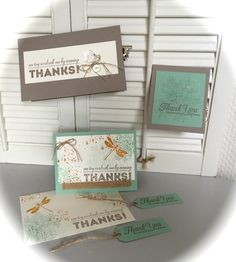 """Card ideas for the Stampin' Up! stamp sets: """"Awesomely Artistic"""" and """"One Big Meaning"""" (new catalog 2015-2016) - This was our project at the Stampin' Up! Dutch Regional Event 2015"""