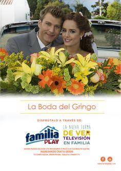 """Diviértete en familia con esta comedia romántica """"La Boda del Gringo"""". Ingresa desde tu computador, smartphone, tableta o Smart TV. ¡Es gratis!"""