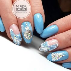 Colorful nail polish makes your hands dazzling. Treat Yourself, Winter Nails, Christmas Nails, Nail Colors, Nail Art Designs, Nail Polish, Nail Ideas, New Ideas, Makeup