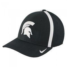 9aa566d7 Michigan State University 2017 Nike Dri Fit Sideline Aerobill Flex Hat At  Campus Den Nike Dri