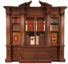 William Vile (c. 1700–67) Bookcase 1762-67