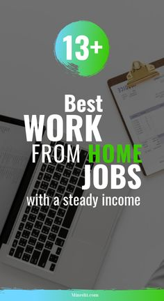 Looking for work from home jobs? We've made a lost containing the best ones.