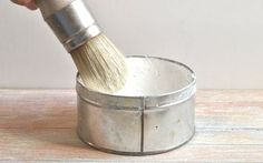 aplicar cera sobre chalk paint