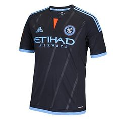 MLS New York City FC Men's Replica Short Sleeve Jersey, Small, Black Will be shipped with authentic Adidas tags. Authentic Adidas Guarantee Size S Black Friday New York, Canada Soccer, Soccer Online, New York City Fc, Soccer Store, Soccer Outfits, Major League Soccer, Football Shirts, Soccer Jerseys