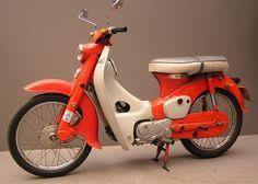 1963 Honda Cub 55 Motorcycle