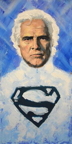 Jor El by Garry Brown http://www.garrybrownart.com/illustration