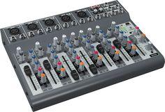 Compact little mixer, Behringer Xenyx 1002b.
