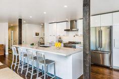 Kitchen remodel San Rafael Knocknock project #modernkitchen #europeandesign #whitekitchen