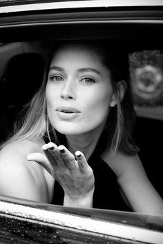 Doutzen Kroes: Cannes Beauty Interview (Vogue.co.uk)