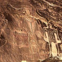 Rock art in the vicinity of Vernal, northeastern Utah